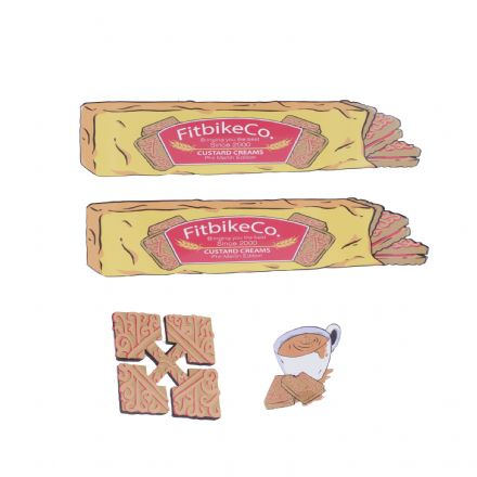 FIT Phil Martin Custard Cream Frame Sticker Pack